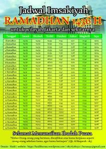 Jadwal Imsakiyah Jakata